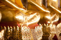A thousand Buddhas, Bangkok Royalty Free Stock Images