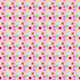 The thousand-color party pattern. Pattern with appropriate shape of box and color suitable for printing in fabric or paper and also other materials vector illustration