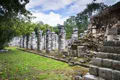 Thousand colums temple stock images