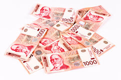 Thousand dinars Stock Images
