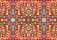 Thousand flowers. Vector drawings of floral decorations such grotesque, patterns vector illustration