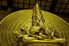 Thousand hand Buddha Royalty Free Stock Image