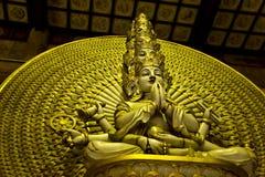 Thousand hand Buddha Royalty Free Stock Image