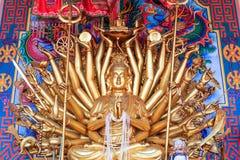 Thousand-Hand Guan Yin statue Stock Image