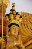 Thousand-Hand Quan Yin Bodhisattva. Statue of Thousand-Hand Quan Yin Bodhisattva in Thailand Stock Photo