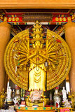 The Thousand Hands Buddha Statue. In bangkok royalty free stock images