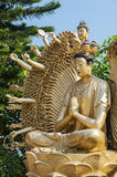Thousand Hands Buddha Statue Stock Images