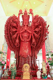 Thousand hands Guan Yin Stock Image