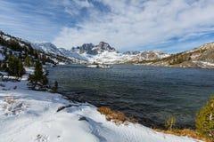 Thousand island lake. Thousand islands lakes, Eastern Sierra, California, USA Stock Photos