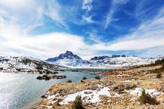 Thousand island lake. Thousand islands lakes, Eastern Sierra, California, USA Royalty Free Stock Photo