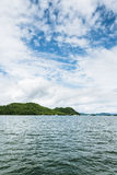 Thousand island lake scenery Royalty Free Stock Images