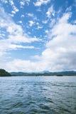 Thousand island lake scenery Stock Photos