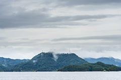 Thousand island lake scenery Royalty Free Stock Photo