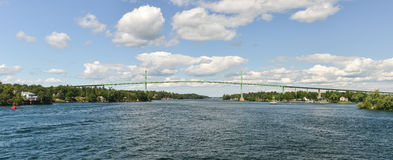 The Thousand Islands Bridge Royalty Free Stock Image