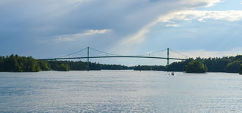 The Thousand Islands Bridge Royalty Free Stock Images