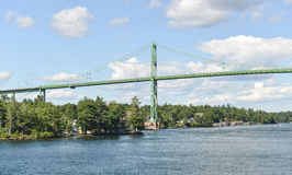 The Thousand Islands Bridge Royalty Free Stock Photos