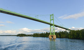 The Thousand Islands Bridge Royalty Free Stock Photo