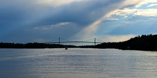 The Thousand Islands Bridge Stock Photo