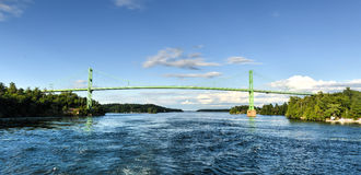 The Thousand Islands Bridge Stock Photos