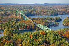 Free Thousand Islands Bridge, Ontario, Canada Royalty Free Stock Images - 140035679