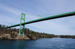 The Thousand Islands Bridge Stock Photography