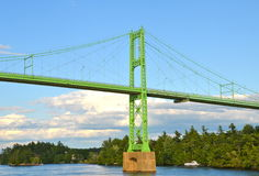 The Thousand Islands Bridge. Stock Images
