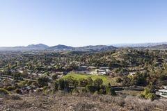 Thousand Oaks в Ventura County Калифорнии Стоковые Изображения