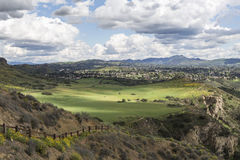 Thousand Oaks California. Parkland meadows in the Los Angeles area suburb of Thousand Oaks in Ventura County, California Royalty Free Stock Image
