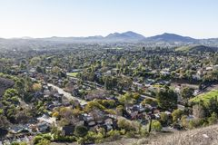 Thousand Oaks la Californie Image libre de droits