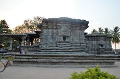 The Thousand Pillar Temple, Hanamakonda Telengana,. The Thousand Pillar Temple or Rudreshwara Swamy Temple at Hanamakonda, Telengana, India Stock Photography