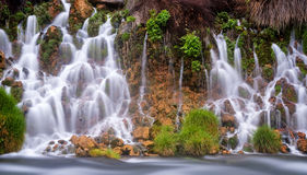 Thousand Springs flowing into a stream Royalty Free Stock Photography