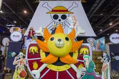 Thousand Sunny from One piece comic Stock Photo