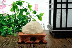 Edible Collocalia`s nest. For thousand of years, the Chinese have deemed bird's nests as one of the best nutritious food that has a therapeutic effect on royalty free stock photo