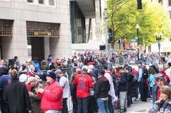Boston Red Sox 2018 Parade royalty free stock images