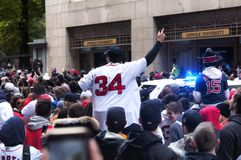 Boston Red Sox 2018 Parade stock images