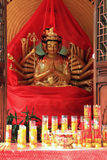 Thousands Hands Guanyin Stock Image