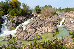Thousands islands of Laos Stock Images
