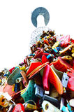 Thousands of love padlocks at N Seoul Tower Royalty Free Stock Photos
