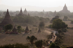 Thousands pagodas valley Stock Images