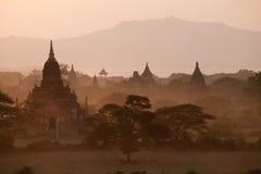 Thousands pagodas valley Royalty Free Stock Photos