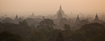 Thousands pagodas valley Stock Photography
