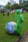 Thousands rally for action on climate change Royalty Free Stock Photos