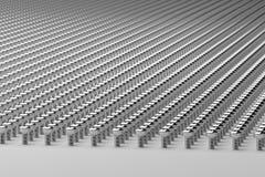 Thousands of Screws,3d Rendering Stock Image