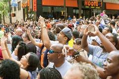 Thousands Of Spectators Watch Atlanta Dragon Con Parade Royalty Free Stock Photos