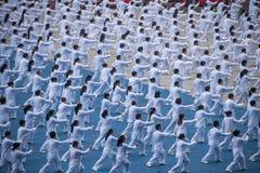 Thousands Taijiquan Royalty Free Stock Photos