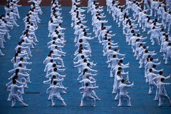 Thousands Taijiquan Royalty Free Stock Photo
