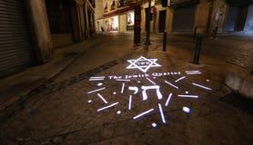 Thr Jewish Quarter. Royalty Free Stock Photo