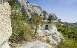 thracian岩石坟茔 库存图片