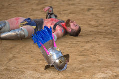 Thracian στην άμμο στοκ εικόνες