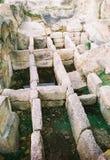 Thracian Grab Stockfotos
